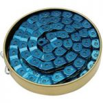 Gusset Slink Coloured Chain Blue