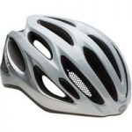 Bell Draft Road Bike Helmet White/Silver