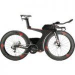 Cervelo P5X eTap Time Trial Bike 2017 Black/Red
