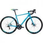 Cube Axial WLS Pro Disc Womens Road Bike 2017 Reef Blue/Green