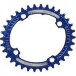 Hope Oval Retainer Chainring Blue