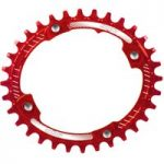 Hope Oval Retainer Chainring Red